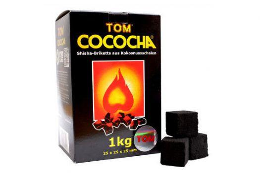 Уголь Натуральный Кокосовый Tом Cococha Желтый 1кг