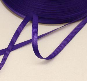 `Лента репсовая однотонная 06 мм, цвет: фиолетовый