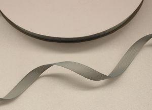 `Лента репсовая однотонная 09 мм, цвет: серый