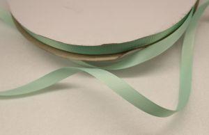 `Лента репсовая однотонная 09 мм, цвет: светло-зеленый