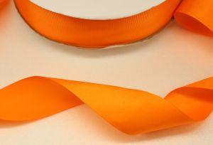 `Лента репсовая однотонная 38 мм, цвет: оранжевый