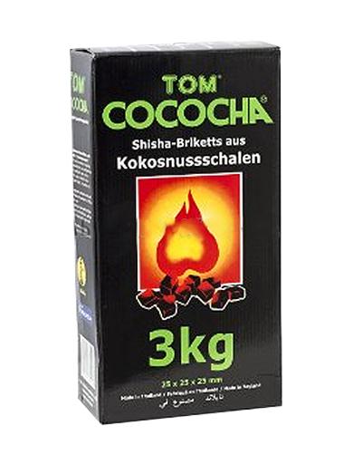 Уголь Натуральный Кокосовый Tом Cococha Зеленый 3кг