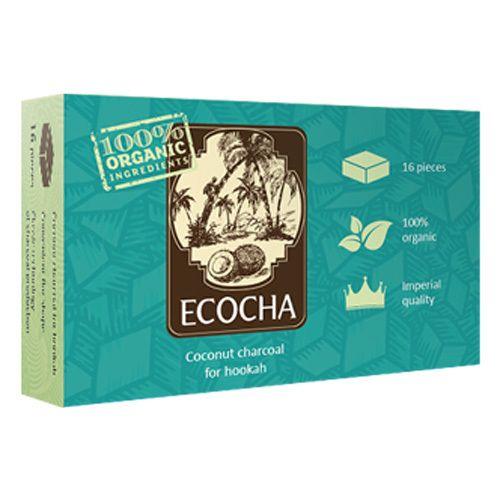 Уголь Натуральный Кокосовый Ecocha 16