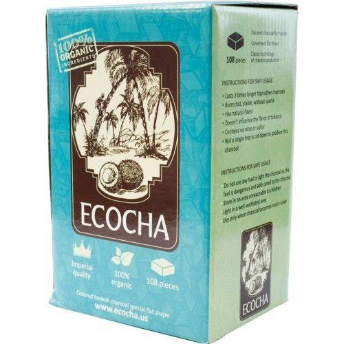 Уголь Натуральный Кокосовый Ecocha 108