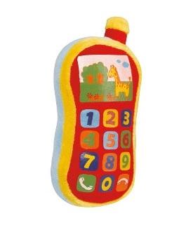 Плюшевый звуковой телефон