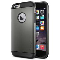 Чехол Spigen Slim Armor для iPhone 6/6S темный металлик