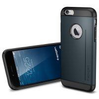 Чехол Spigen Slim Armor S для iPhone 6/6S (4.7) синий металлик