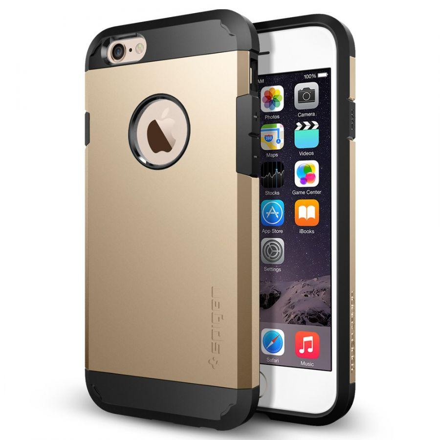 Чехол Spigen Tough Armor для iPhone 6/6S золотой