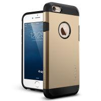 Чехол Spigen Tough Armor для iPhone 6/6S (4.7) золотой