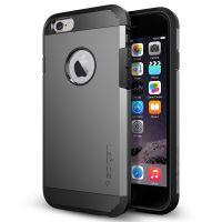 Чехол Spigen Tough Armor для iPhone 6/6S (4.7) темный металлик