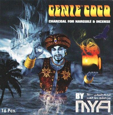 Уголь Натуральный Кокосовый MYA Genie Coco 16 синий