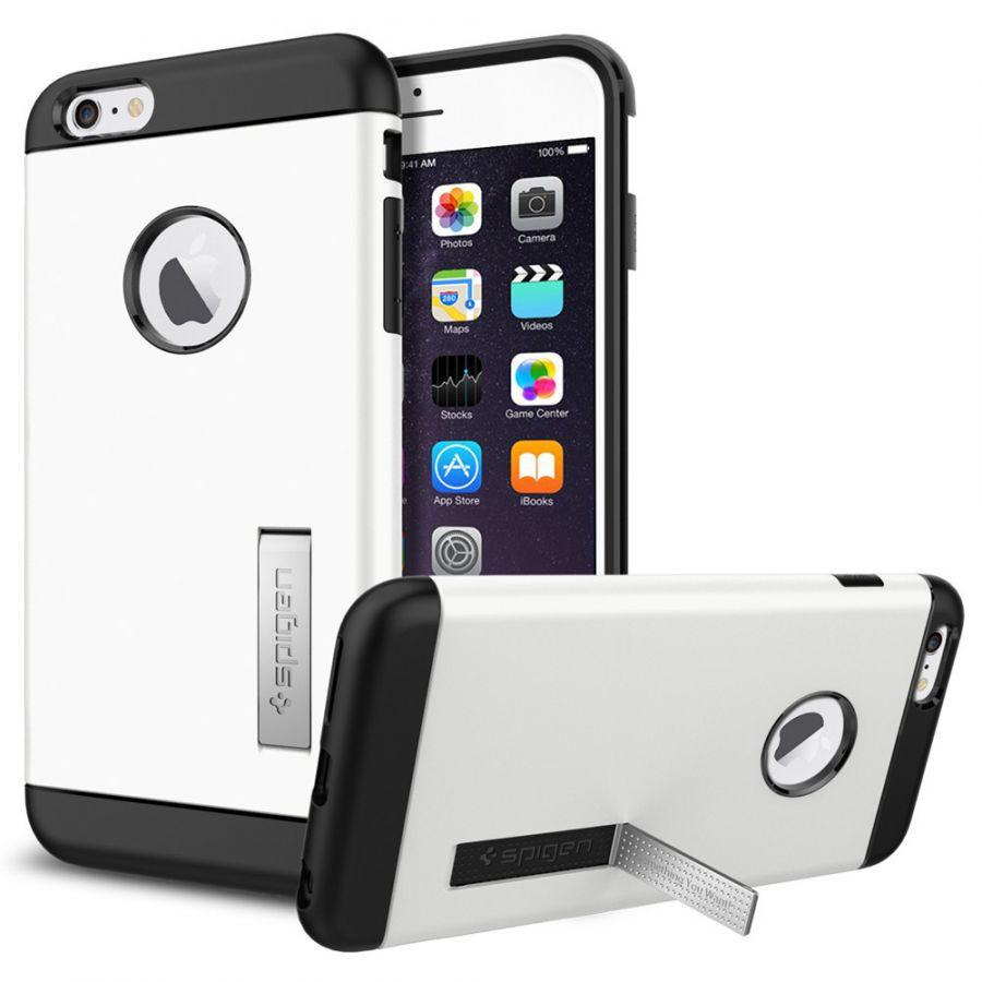 Чехол Spigen Slim Armor для iPhone 6S Plus белый