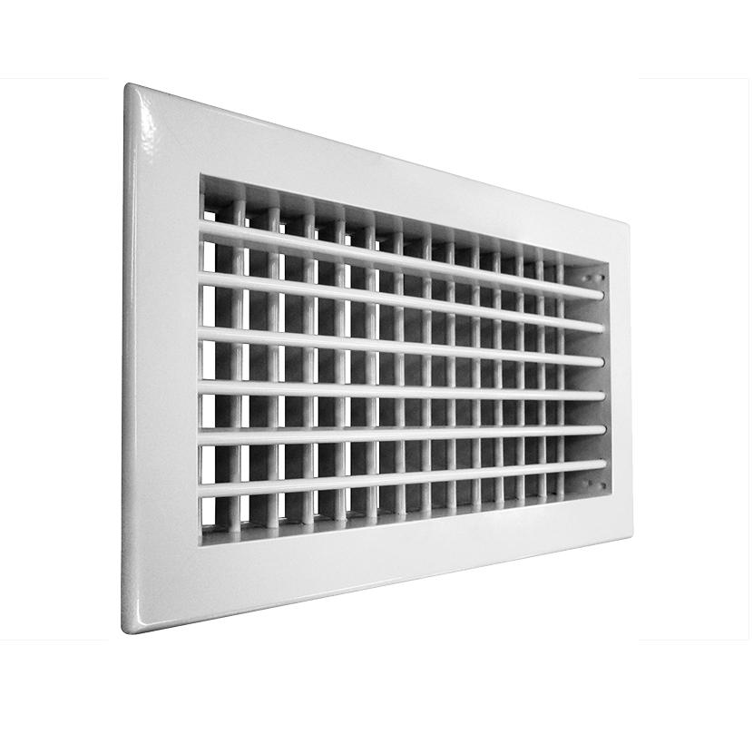 Решетка алюминиевая вентиляционная АДН-К 300х150