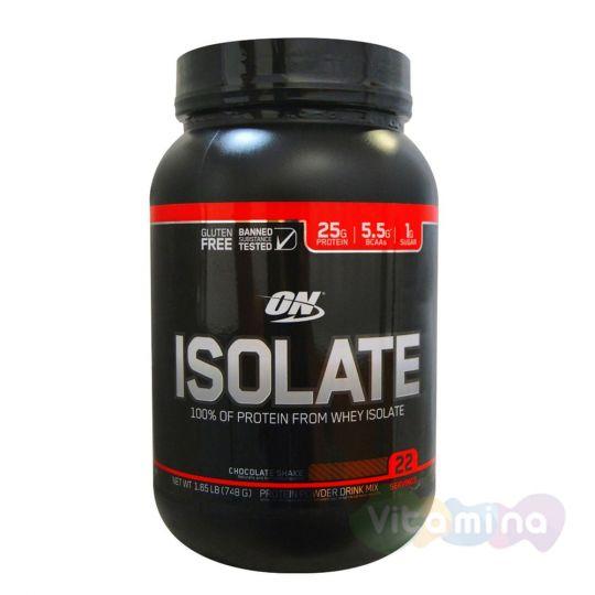 Изолят Optimum Nutrition Isolate GF 1,65lb (0,75 кг)