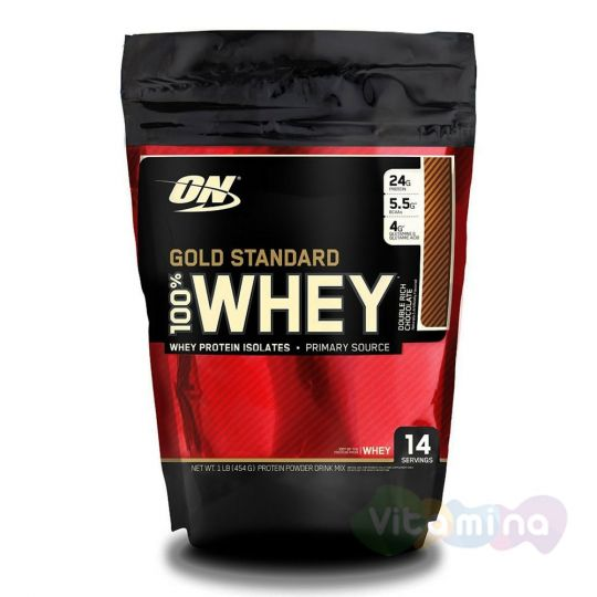 Протеин Optimum Nutrition 100% Whey Gold Standard 1 lb (0,45 кг)