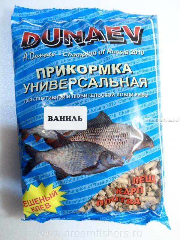 Прикормка Dunaev Классика 0.9кг Ваниль ( гранулы )