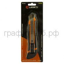 Нож канц.18мм 2зап.лезвия Lamark CK0205