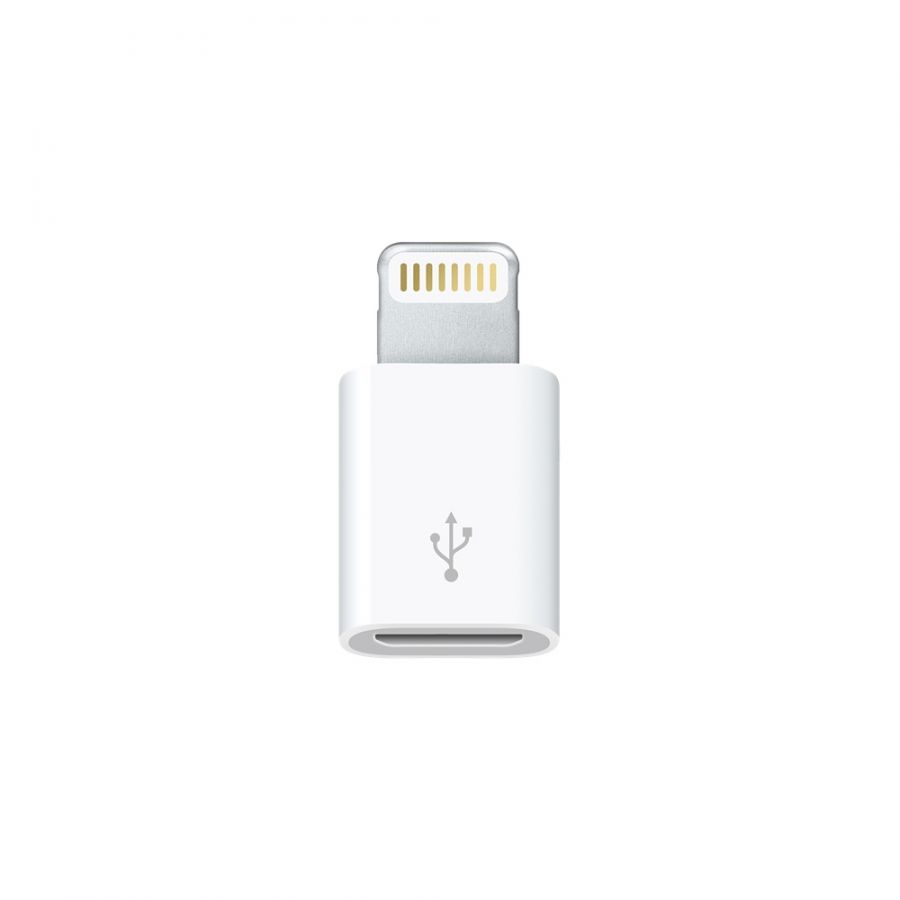 Переходник Apple Lightning to micro USB