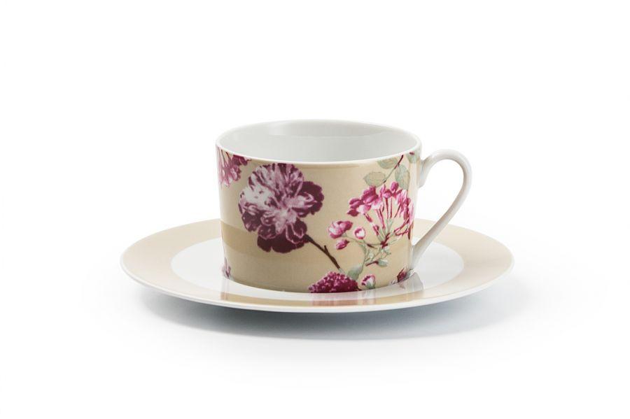 Чайный набор на 6 персон Liberty (Mimosa), 220 мл, 12 пр.