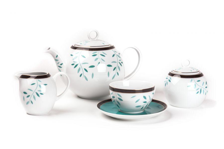 Чайный сервиз на 6 персон Laurette (Monalisa), 15 пр.