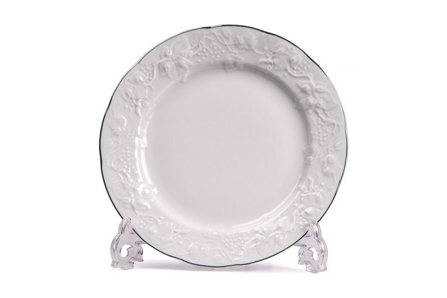 Тарелка обеденная, 26 см, Filet Platine (Vendange)