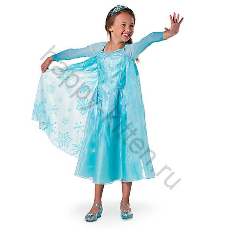 Платье Эльза Диснейстор рост 116 см