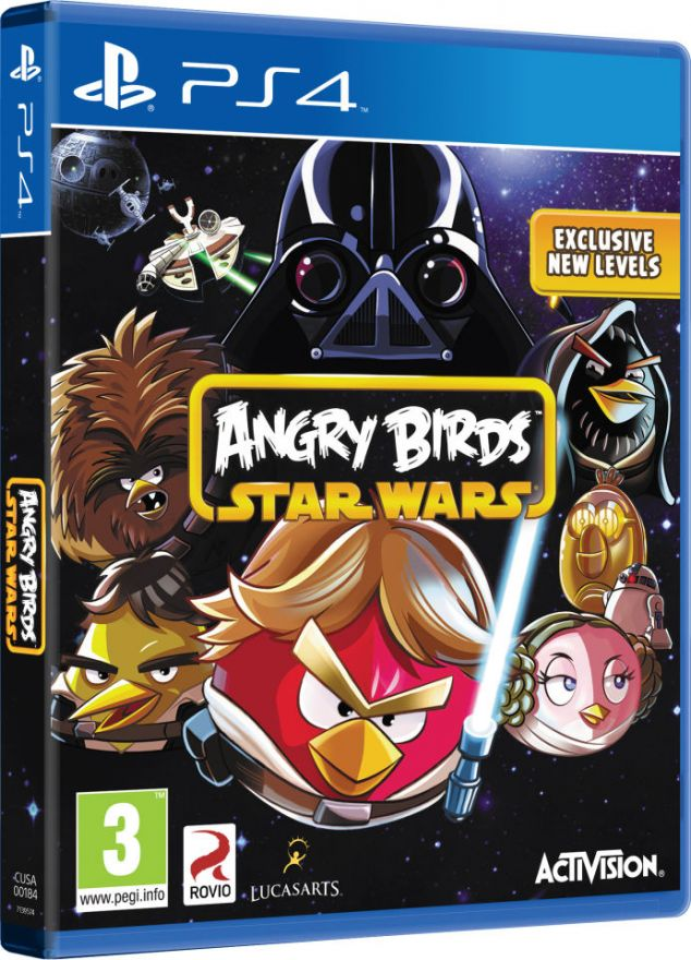 Игра Angry Birds star wars (ps4)