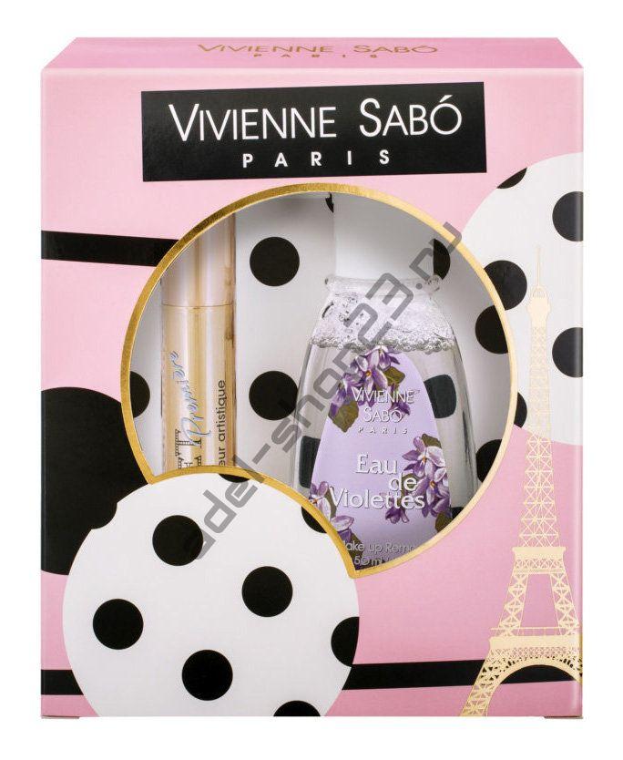 Vivienne Sabo - Набор Тушь Cabaret Premiere + жидкость для снятия макияжа