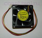 Вентилятор чипсета (60мм) (3 контакта)