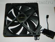 Вентилятор шасси  (140мм)  (3 контакта)
