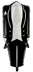 Шар (41''/104 см) Фигура, Смокинг жениха