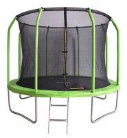 Батут с внутренней защитной сеткой - Bondy Sport 10FT( 3,05м), цвет зелёный