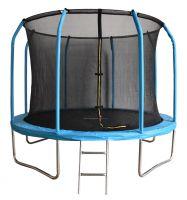 Батут с внутренней защитной сеткой - Bondy Sport 12 FT (3,66м), цвет синий