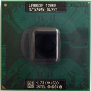 Процессор мобильный Intel T2080 (SL9VY) - 478, 65 нм, 2 ядра/2 потока, 1.73 GHz, TDP-31W [712]