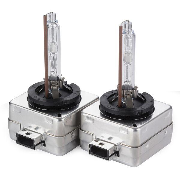 Комплект ксеноновых ламп теплого света 4300K CarProfi D1S