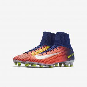 Детские бутсы NIKE MERCURIAL SUPERFLY V FG 831943-409 JR