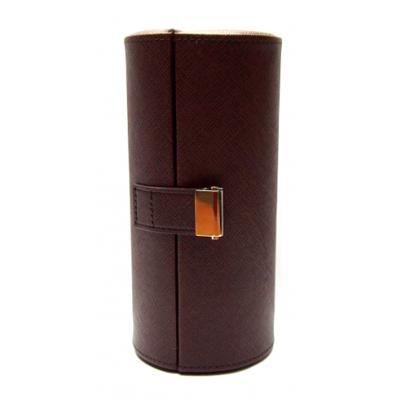 Шкатулка-футляр для 3 очков Diplomat DBS-6538 brown