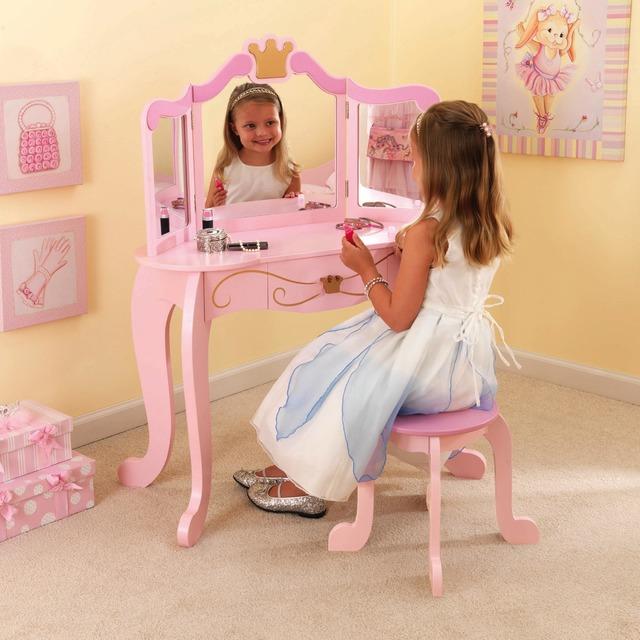 Комод со стулом Kidkraft принцесса 76123