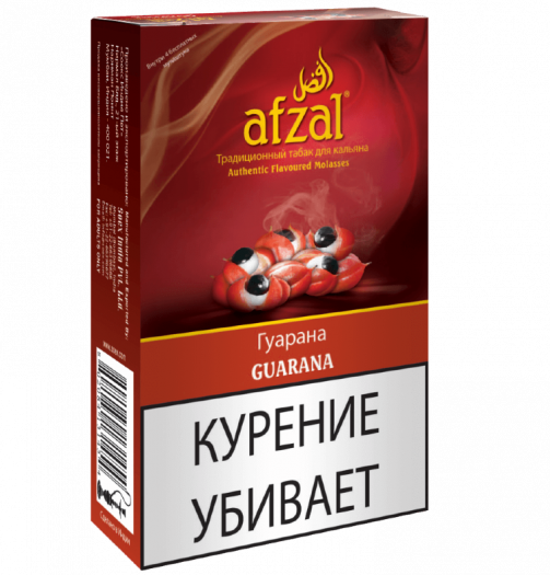 Табак для кальяна Afzal Guarana