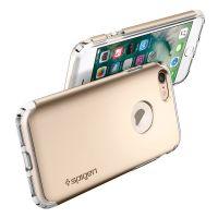 Чехол Spigen Hybrid Armor для iPhone 7 (4.7) золотой