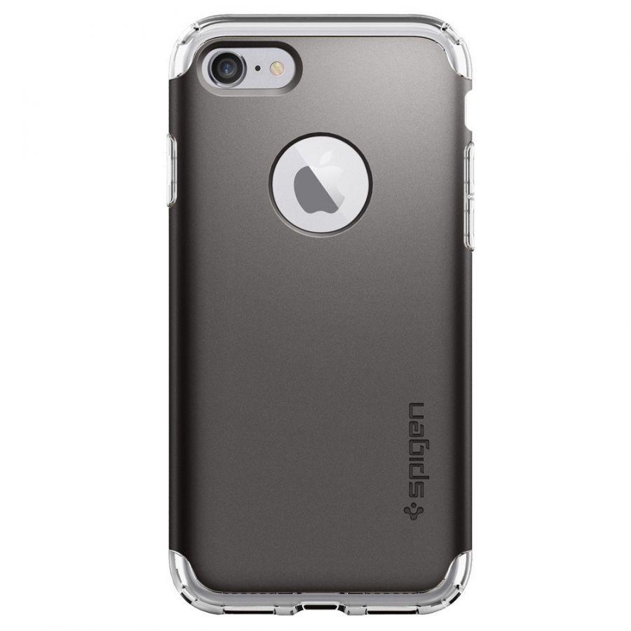 Чехол Spigen Hybrid Armor для iPhone 7 темный металлик