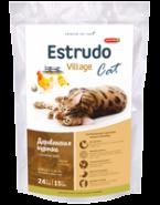 Porcelan Estrudo Village Cat Деревенская курочка для кошек (400 г)