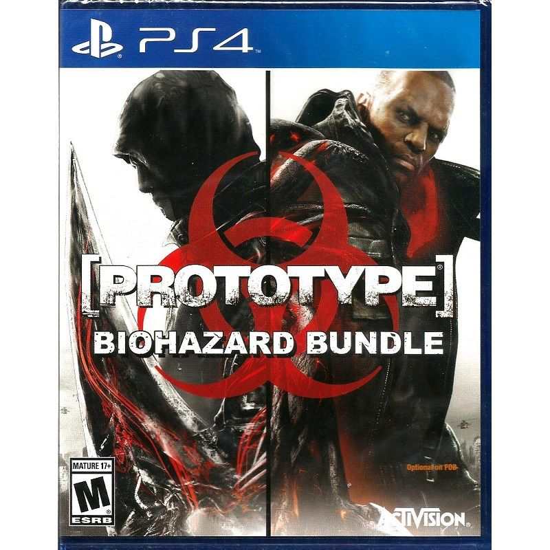 Игра Prototype Biohazard Bundle (PS4)