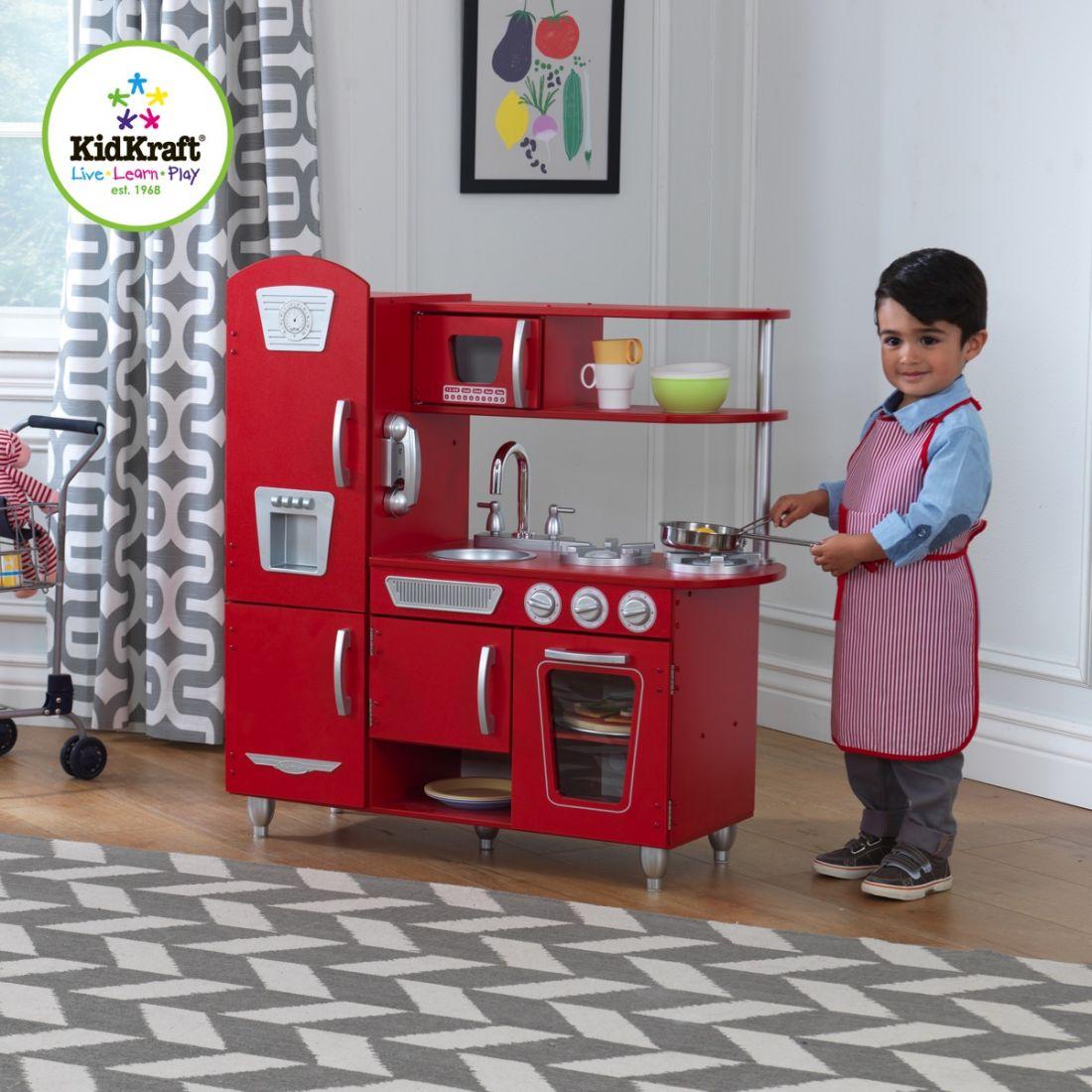 Детская деревянная кухня Kidkraft Vintage 53173