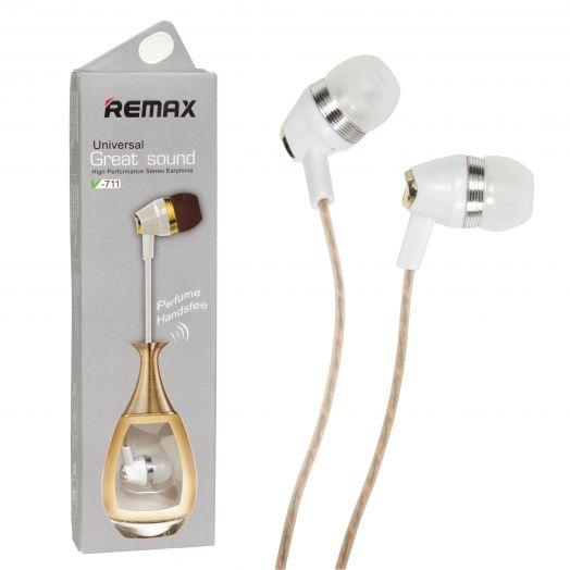 Наушники вакуумные - гарнитура Remax RM-711