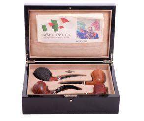 Подарочный набор трубок Mastro De Paja «Герои Италии»