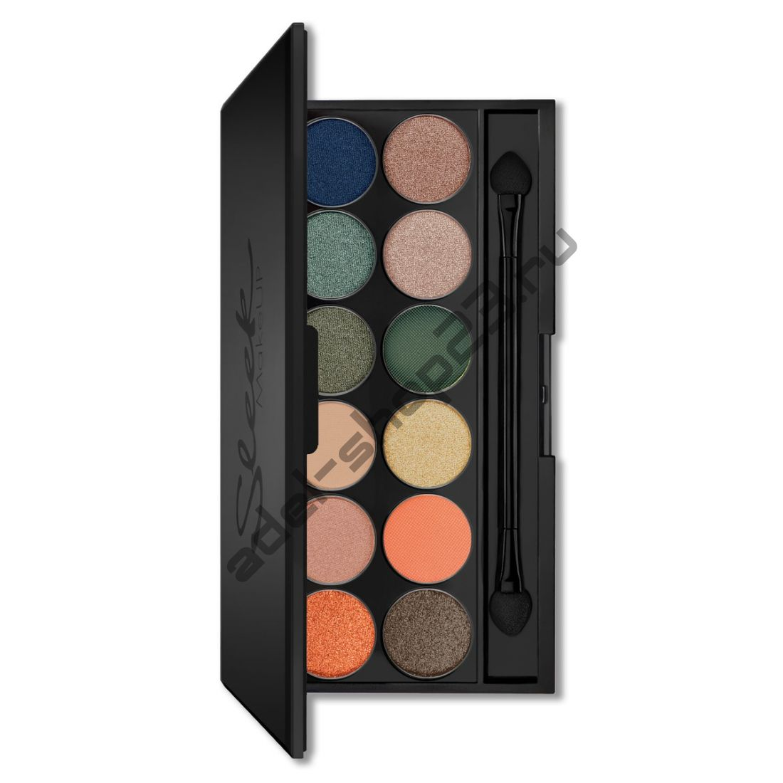 Sleek MakeUp - Тени для век Eyeshadow Palette I-Divine 444 On The Horizon 12 цв
