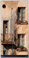 Виниловая наклейка на холодильник -  Балкон