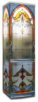 Виниловая наклейка на холодильник -  Стеклянная дверь