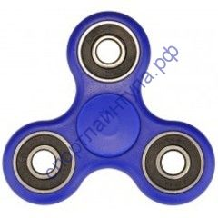 Fidget Spinner Iron Black Dark Blue